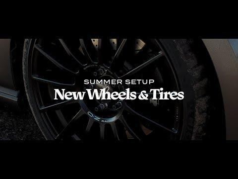 NEW OZ Racing Wheels & Tires + Ceramic Coated | RYAN D