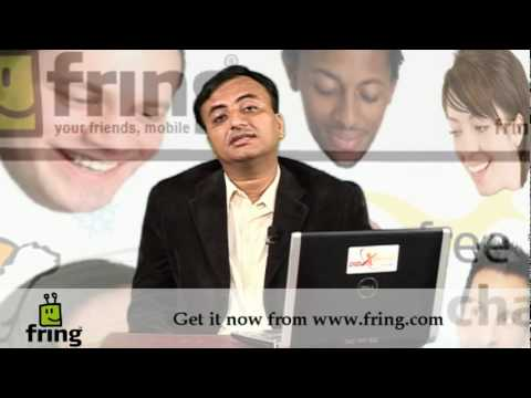 What is Fring? Be with your friends anywhere, anytime - Urdu - Hindi