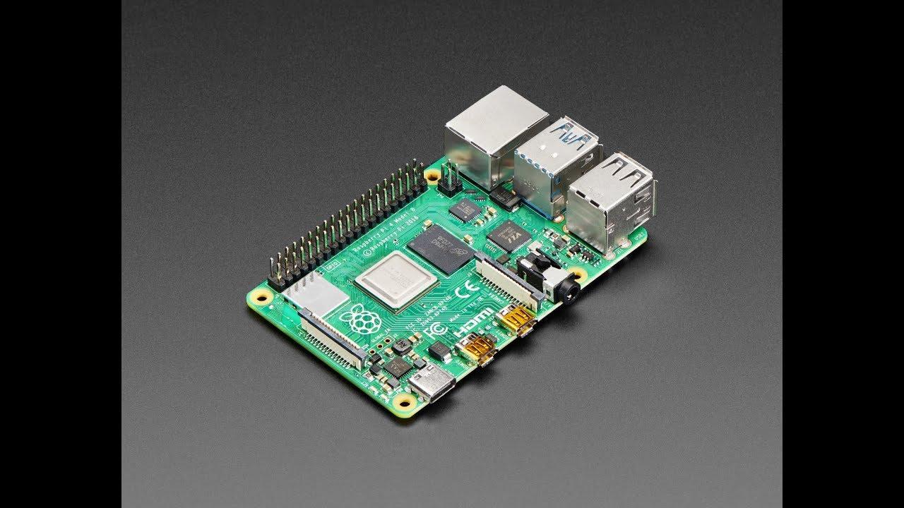 Raspberry Pi 4 Model B is here!