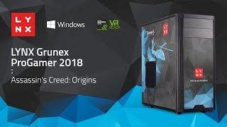 AC: Origins LYNX Grunex ProGamer 2018 – CPU Core i5 7400, VGA MSI NVIDIA GTX 1060 6 GB, RAM 16GB