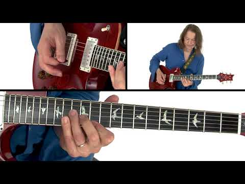 Robben Ford Guitar Lesson - Diminished Scale Demo - Solo Revolution: Diminished Lines