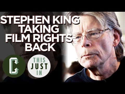Stephen King Takes Back Rights to Firestarter, Children of the Corn, and More