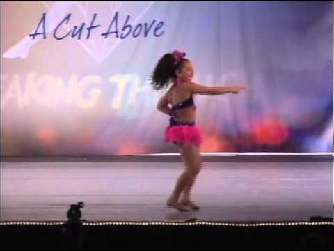 Tessa Bella Defries 7 yrs old  Shake Your Tail Feather  Dance Dynamics