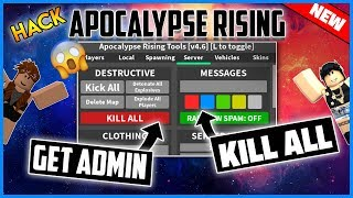 *NEW* ROBLOX HACK - APOCALYPSE RISING GUI - STEAL LOOT, SPAWN ITEMS AND MORE