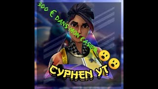 300€ De Skins OMG !!! Presentation de mon Casierrr !!! FORTNITE BATTLE ROYALE