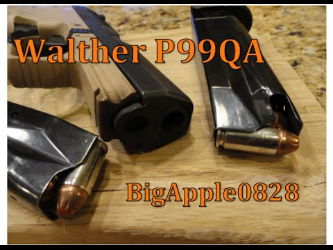 Walther P99QA - Classic but Outdated