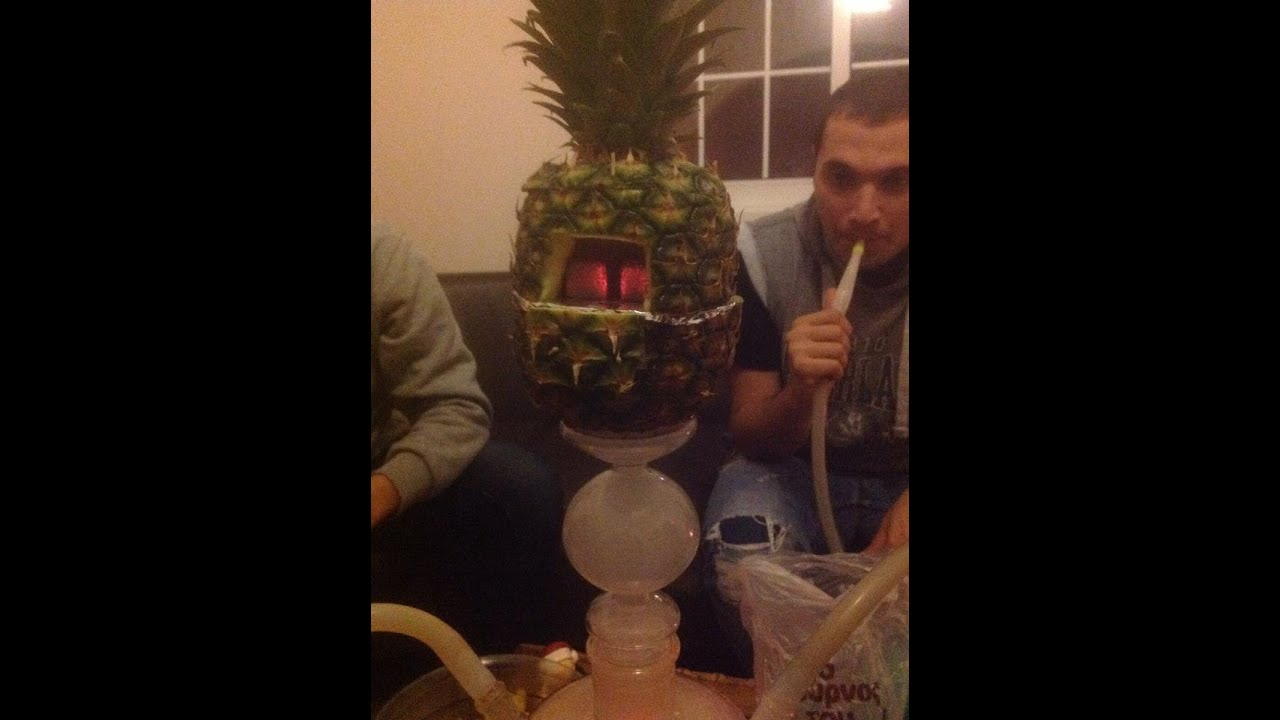 Hookah Pineapple Head Bowl With The Cover On Top Pro