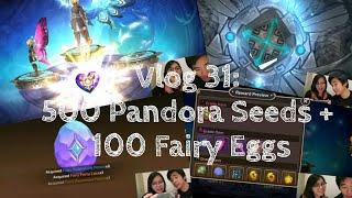 Dragon Nest M 500 Pandora Seeds and 100 Fairy Eggs
