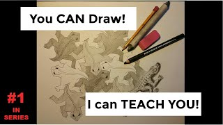 You CAN Draw!  If I can teach middle school students how to draw, I can teach you!