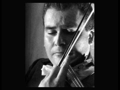Christian Ferras Bach Chaconne BWV 1004 Part 1