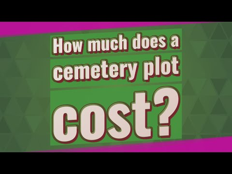 How Much Does A Cemetery Plot Cost?