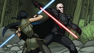 Star Wars: Darth Malgus vs. Satele Shan, Old Republic