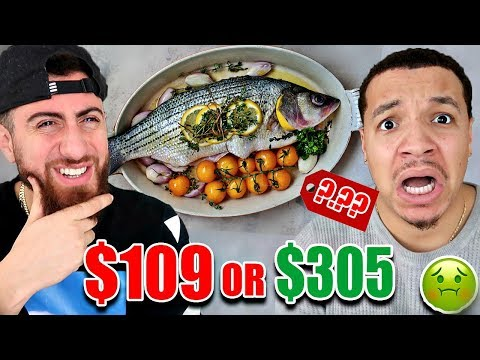 Guess The PRICE Or EAT IT Challenge (Impossible Food Challenge) FT CHADWITHAJ