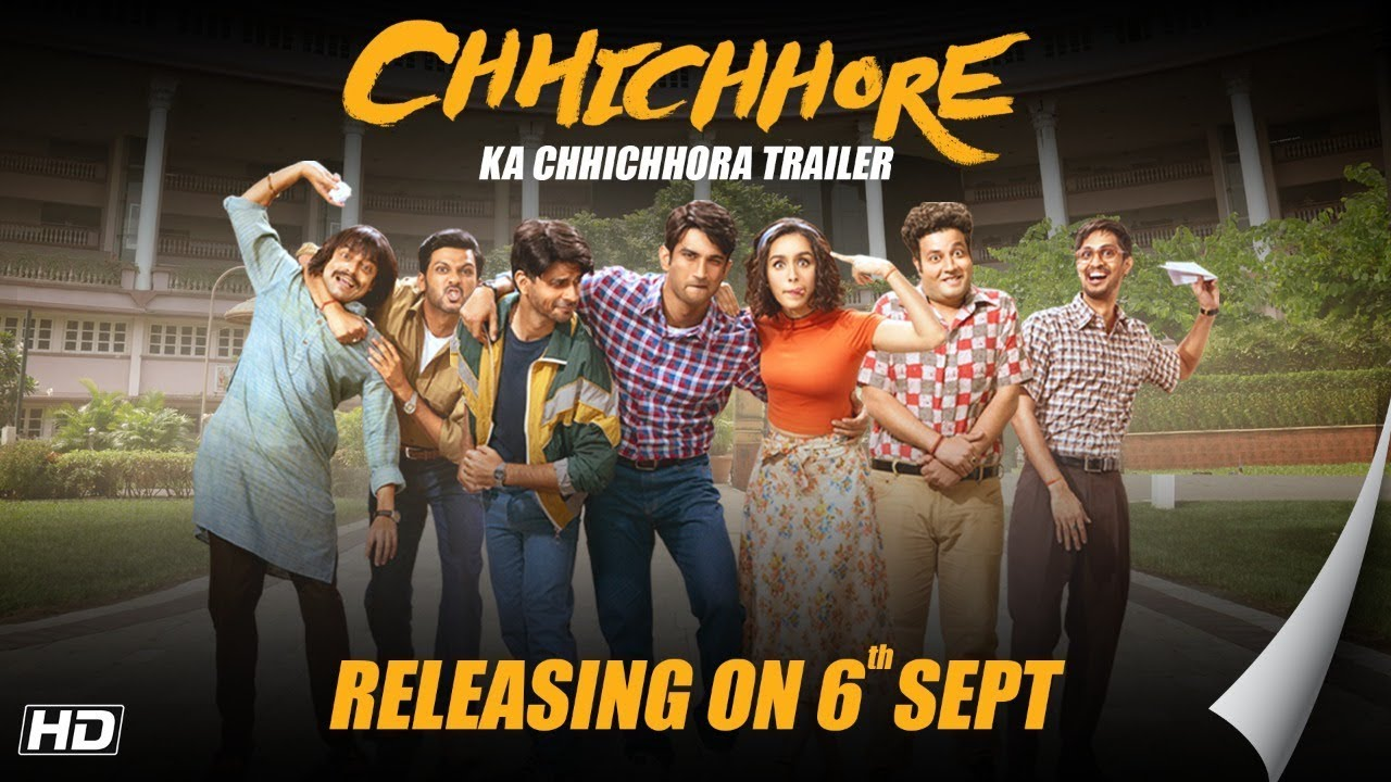 Chhichhore Dosti Special Trailer Nitesh Tiwari Sushant Shraddha Sajid Nadiadwala 6th Sept