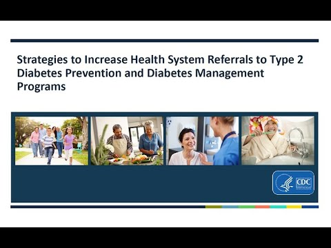 Increasing Referrals To Diabetes Prevention And Management Programs