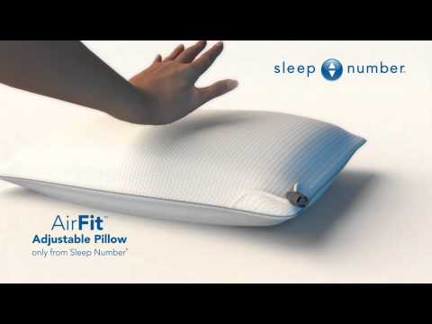 Great Sleep Number Creates Exclusive Adjustable Pillow   YouTube