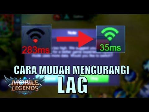 CARA MENGURANGI LAG JARINGAN DI ML (SUPER SIMPLE) • Mobile Legends Indonesia (60 fps)