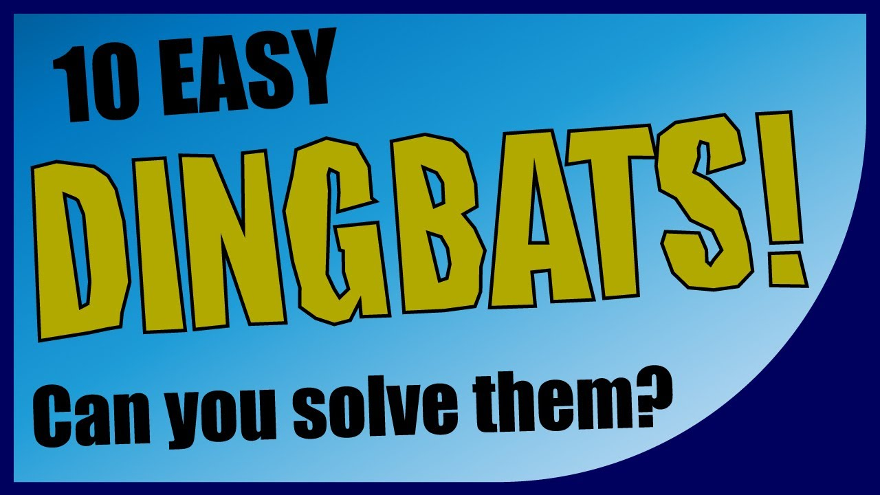 Q★ | Dingbat Puzzles - Can you solve these 10 Dingbats? | MULTIPLE CHOICE  QUIZ | Q-Star Quiz Channel