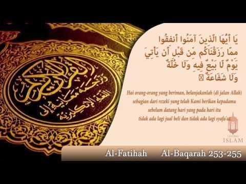 Alfatihah   Ayat Kursi, Bacaan yang SANGAT INDAH oleh Fatih seferagic