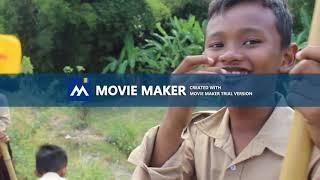 Pramuka Hiking || Mencoba Trial Movie Maker 18