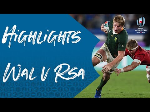 Highlights: Wales v South Africa - Rugby World Cup 2019
