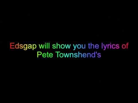 Let My Love Open The Door-Pete Townshend lyrics