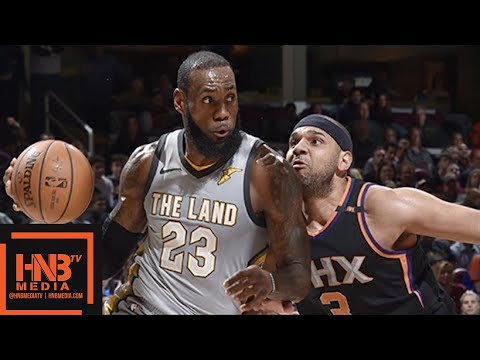 Cleveland Cavaliers vs Phoenix Suns Full Game Highlights / March 23 / 2017-18 NBA Season