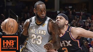 Cleveland Cavaliers vs Phoenix Suns Full Game Highlights / March 23 / 2017-18 NBA Season thumbnail