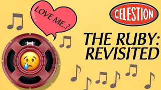 Celestion AlNiCo Ruby: Revisited (Big Tones In Vox AC, Tweed & Plexi Amps)