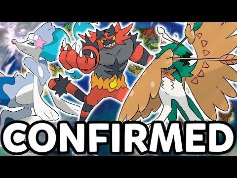 Starter Final Evolutions CONFIRMED?! - New Trailer Breakdown - Pokemon Sun and Moon