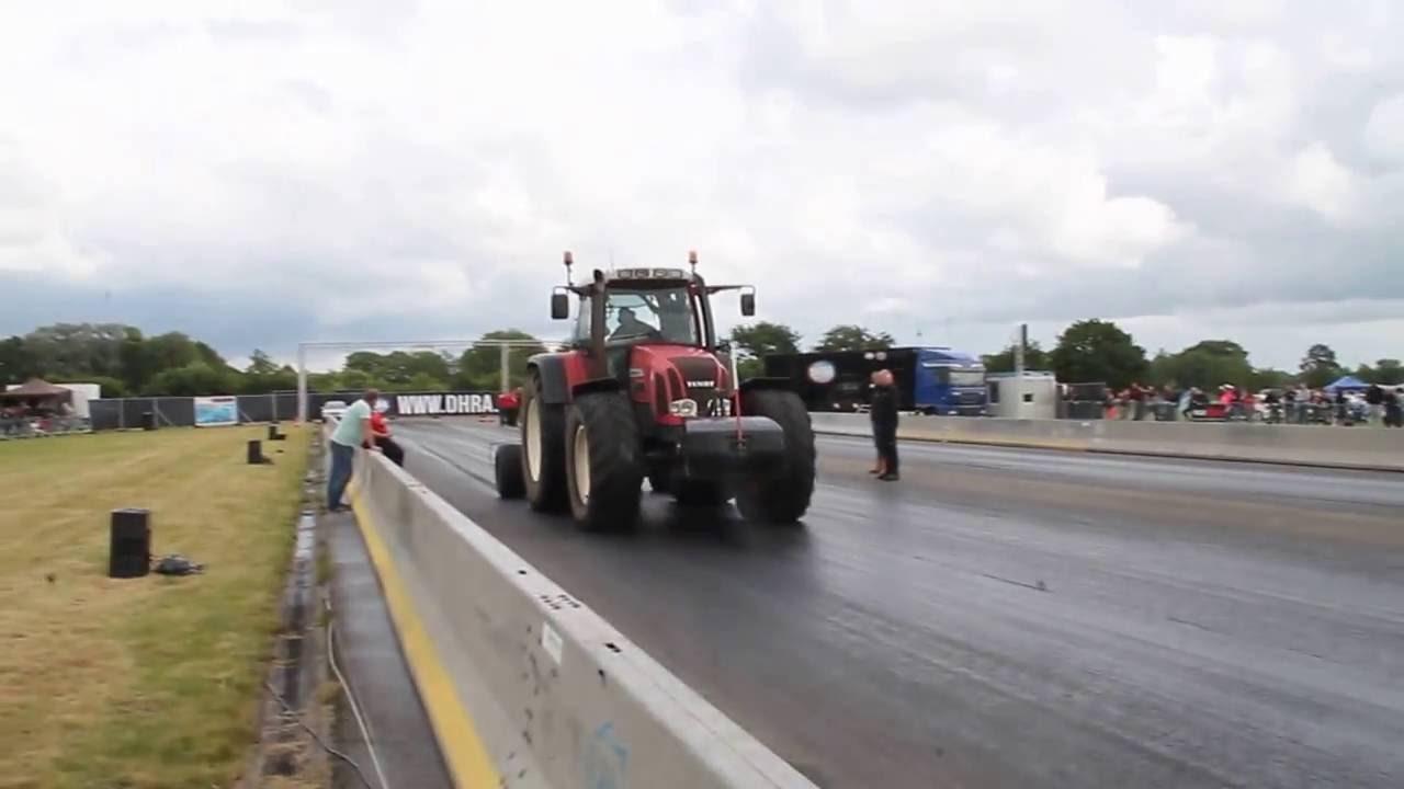 Betere DHRA Dragracing Drachten tractor cleaning track RaRaRacing - YouTube RD-32