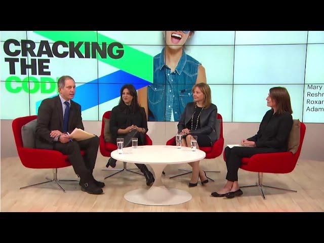 Cracking the Code — WEF 2017 Panel Discussion