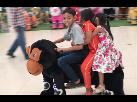 Sovanna Shopping Mall with Family on Sunday