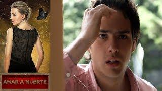 Capítulo 57: Lucho descubre el amor de Valentina y Juliana   Amar a muerte - Televisa