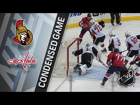 Ottawa Senators vs Washington Capitals – Feb. 27, 2018 | Game Highlights | NHL 2017/18. Обзор