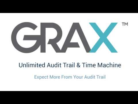 GRAX Unlimited Audit Trail & Object Time Machine Demo
