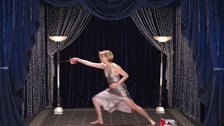 Greta Gerwig Shows Off Her Secret Fencing Talent | Secret Talent Theatre | Vanity Fair