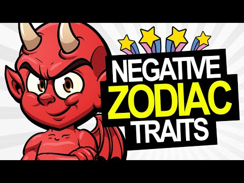 Negative Traits of the Zodiac Signs Revealed