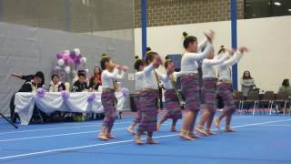 Menomonie Hmong New Year, Ntxhais Nag Tshia first time dance on Laos song
