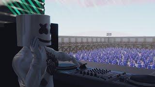 MARSHMELLO - Live Ultra Music Festival on Fortnite