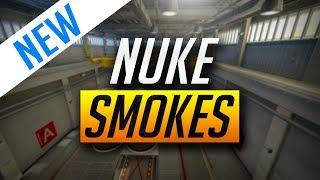 BEST NUKE SMOKES - CS:GO (2018)