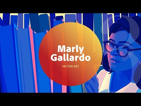 Live Vector Art with Marly Gallardo 3 of 3