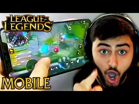 League of Legends Mobile is LEAKED?! - Funny LoL Moments
