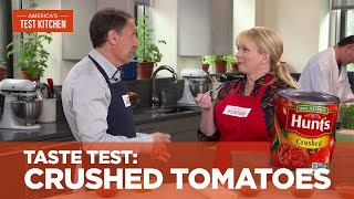 Our Taste Test of Crushed Tomatoes