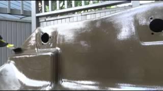 HDPE (Polyethylene) Color Restoration/Sun Damage Repair, Hustler 6x6