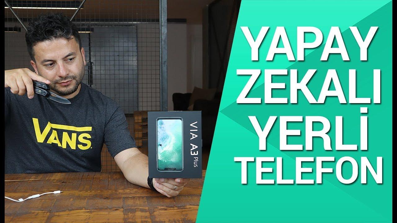 Casper VIA A3 Plus kutusundan çıkıyor! - Yapay zekalı ilk yerli telefon!