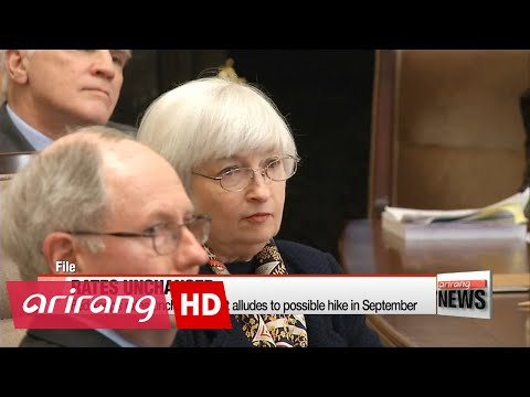 Fed keeps rates unchanged, but alludes to possible hike in September