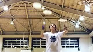 Man Exhibits Amazing Plate Spinning Skills - 1008747-5