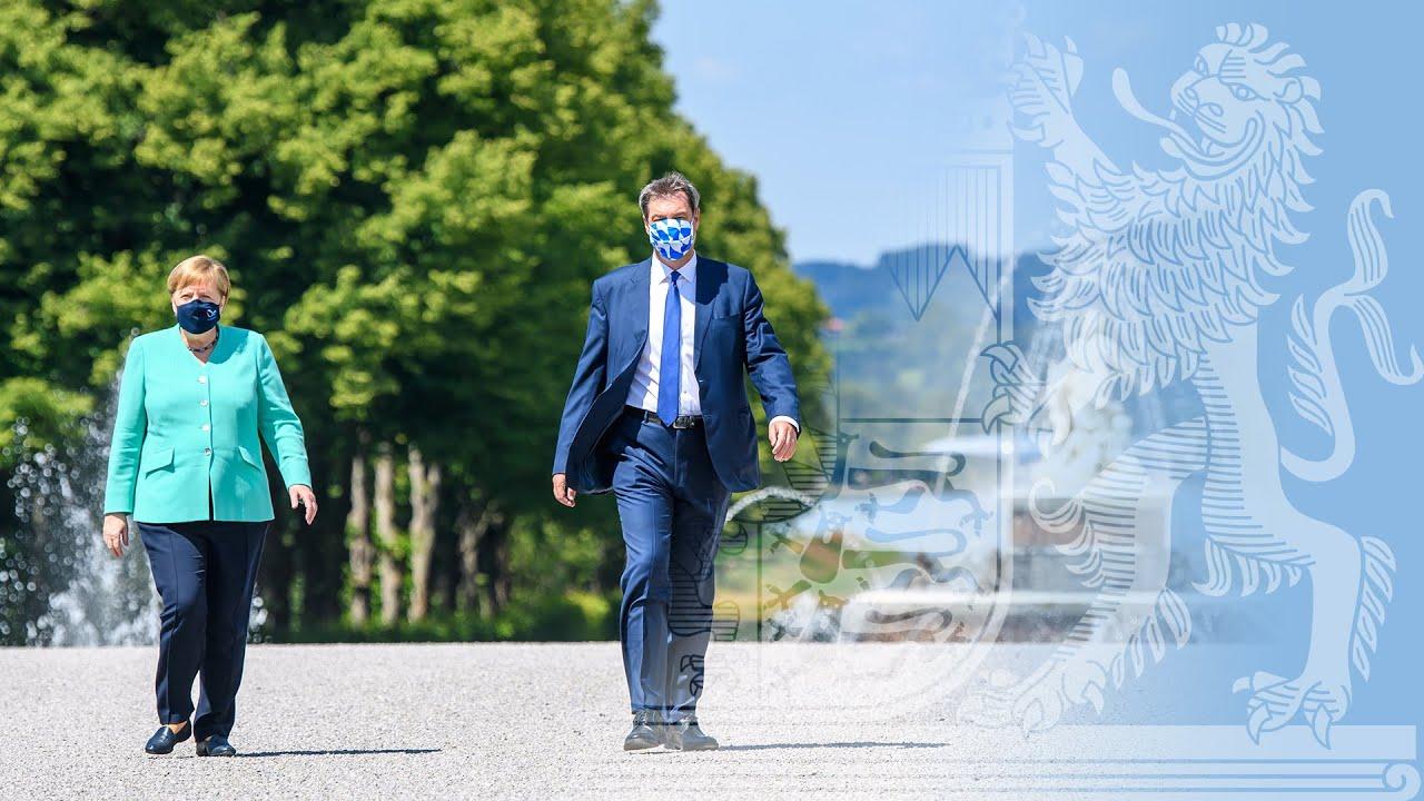 Video in Gebärdensprache: Pressekonferenz zum Ministerrat mit der Bundeskanzlerin(14.07.2020)-Bayern