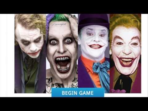 Which Joker Am I?- online personality quiz